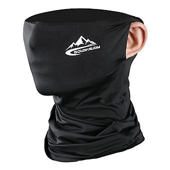 Cyklistická polovičná maska na tvár