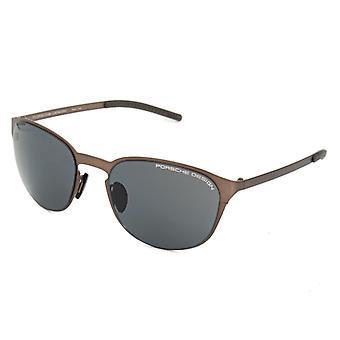 Unisex Sluneční Brýle Porsche P8666-B Brown (ø 55 mm)