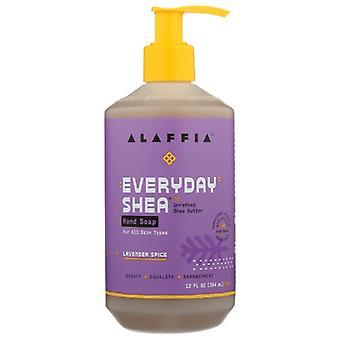 Alaffia Hand Soap, Lavender Spice 12 Oz