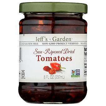 Jeffs Garden Tomato Drd Sun Rpnd N Oil, Case of 6 X 8 Oz