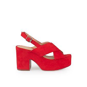 Zian Sandals Party 17572_36 Rode Kleur