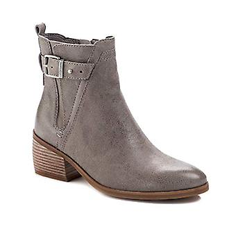 Lucca Lane Womens Meyna Leather Almond Toe Mid-Calf Fashion Boots