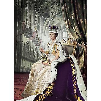 Eurographics Queen Elizabeth II Jigsaw Puzzle (1000 Pieces)