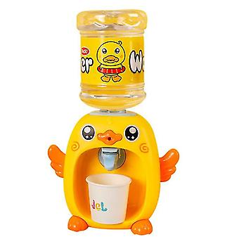 Little Kitchen Playset,kids Play Kitchen With Realistic Lights Sounds,simulation Of Spray(YELLOW)