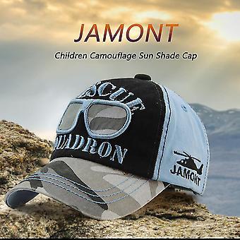 2017 Lente Zomer Jamont 11219-54 Kinderen Boy Girls Camouflage Sun Shade Cap
