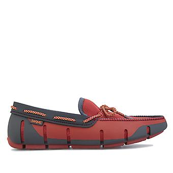 Men's Swims Stride Lace Loafer in Red