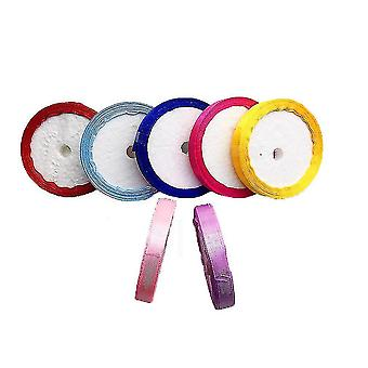 Colorful Ribbons 90 Yards 10 Colors 1cm Width Wedding Christmas Decoration