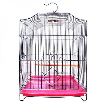 Galvanized Birdcage Parrot Birdcage Large Folding Birdcage Electroplated Fine Wire Small Birdcage