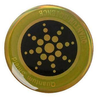 (Gold) Für Mobiltelefone Quantum Shield Anti Radiation Sticker Tablets EMF Schutz