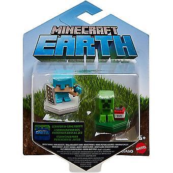 Minecraft GKT43 Boost Mini Figur 2-Pakning
