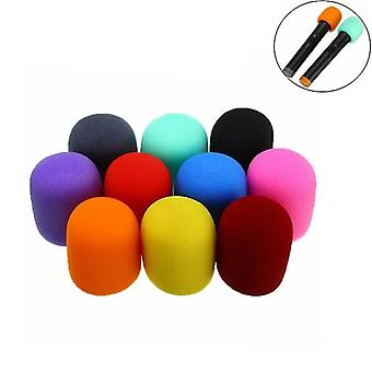 Multi Color Ball Shape Handheld Microphone Windscreen Cover