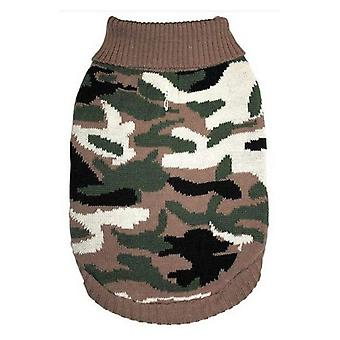 Fashion Pet Camouflage Sweater for Dogs - Medium