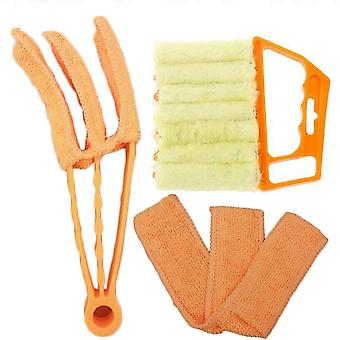 Cleaning Brush Kit For Venetian Blinds  Manual Cleaning Accessory For Blinds, Shutter Cleaner, Window Air Conditioner Cleaner  Dust Brush Removable To