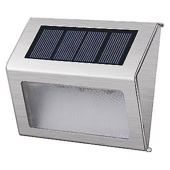 Night lights ambient lighting solar stair light 10x8.3X2.3Cm white