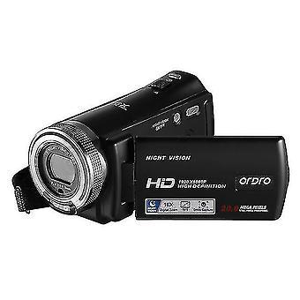 Digital cameras 1080p anti-shake led light digital camera video record camera professional timed selfie christmas gifts high