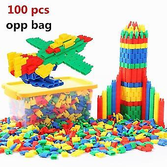 60 sztuk / 120 sztuk zabawki dla dzieci Diy Plastikowe klocki konstrukcyjne Bullet Zabawki edukacyjne Wczesna edukacja