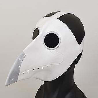 Venalisa Halloween Steampunk Black Death Witch Doctor Pest Krähe Schnabel Latex Maske Bar Party Atmosphäre Requisiten