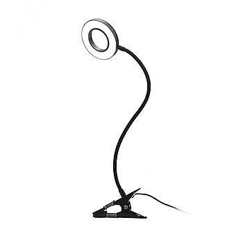 Clip Lamp With 3 Color Modes, Dimmable Home Office Desk Lamp, Led Video Conference Reading Lamp