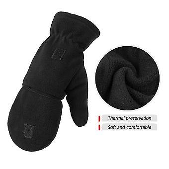 Ozero 1 Paire de gants d'hiver en polaire pour femmes en plein air
