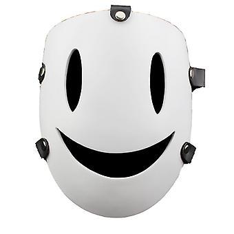 Garde le même masque d'horreur Smiley demi-visage