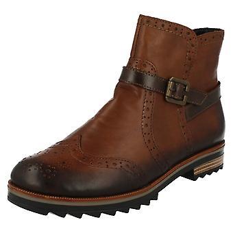 Damer Remonte Brogue stil ankel støvler R2278