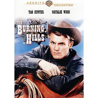 Burning Hills [DVD] USA import