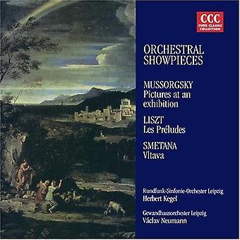 Mussorgsky/Liszt/Smetana/Kegel/Neumann - Virtuoso Orchestral Showpieces [CD] USA import
