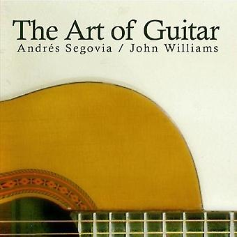 Andrts セゴビア ・ ジョン ・ ウィリアムズ - ギターの芸術 [CD] USA 輸入