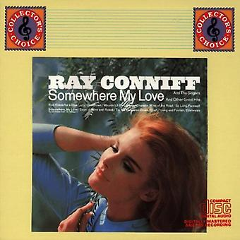 Ray Conniff - Somewhere My Love [CD] USA import