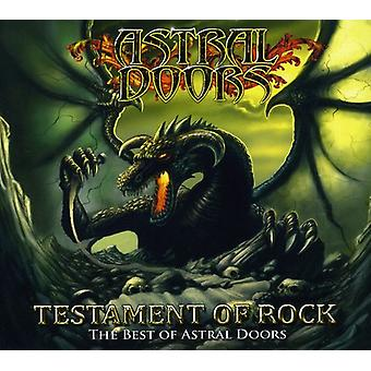 Astral Doors - Testament of Rock-the Best of [CD] USA import