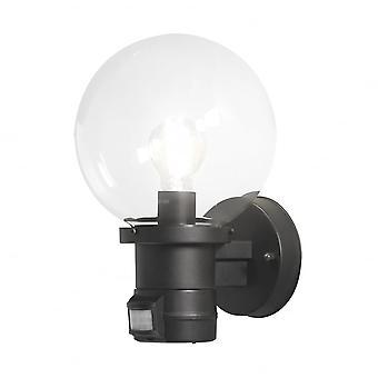 Konstsmide ネミ黒い壁 PIR モーション センサー ライト