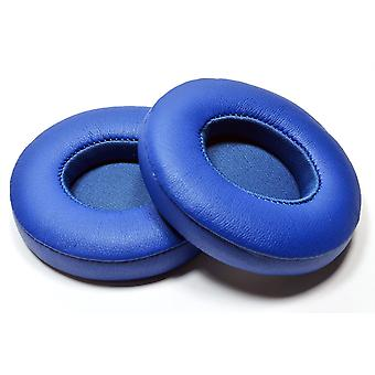 REYTID Replacement Blue Ear Pad Cushion Kit Compatible with Beats By Dr. Dre Solo3 & Solo3 Wireless Headphones