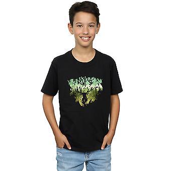 Harry Potter jungen magischen Wald T-Shirt
