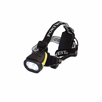 Portwest - Powerful Lightweight Adjustable Compact Dual Power Head Light