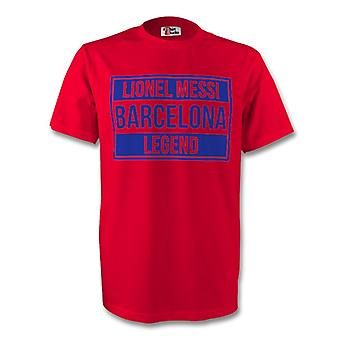 Lionel Messi Barcelona Legend Tee (red)