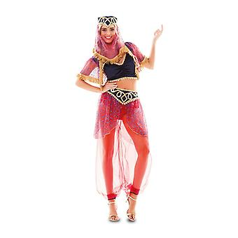 Harem belly dancer Jennie Orient magic fairy Womens costume