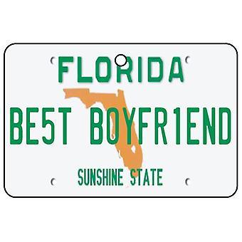 Florida - Best Boyfriend License Plate Car Air Freshener