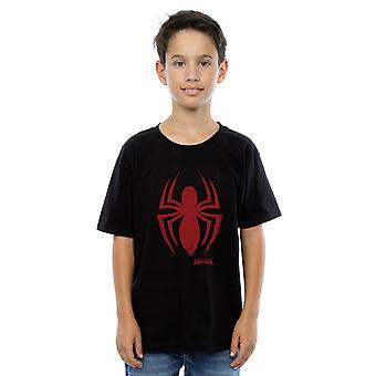 Chicos de Marvel Spider-Man Logo camiseta