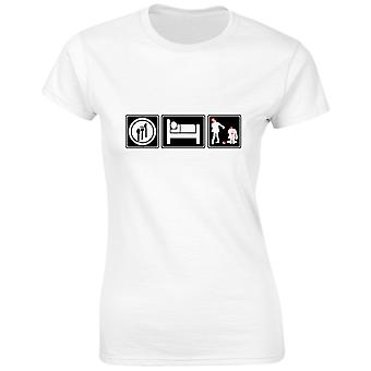 Eat Sleep Zombie Womens T-Shirt 8 Colours (8-20) by swagwear