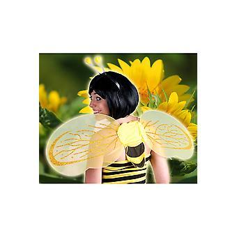 Kinder Biene Sätze von Kopfbedeckungen und Flügel