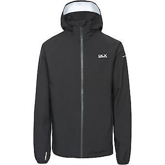 Traspaso Mens Hawkings campana desmontable Zip chaqueta impermeable capa