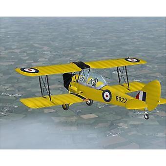 Tiger Moth Add-On pour FS 2004FSX (PC DVD) - Nouveau