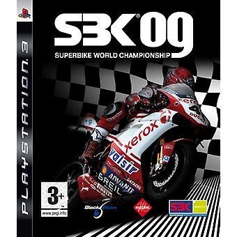 SBK Superbike Wereldkampioenschap 09 (PS3)-nieuw