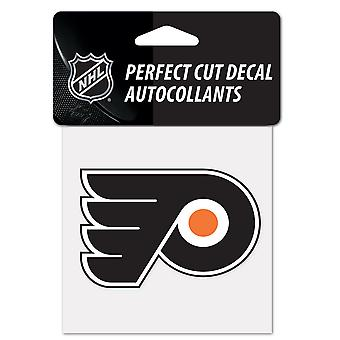 Wincraft dekal 10x10cm - NHL Philadelphia Flyers
