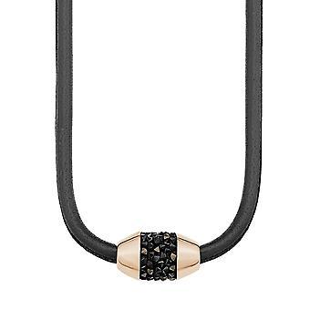 s.Oliver juvel damer chain rustfrit stål Rosé guld læder 2012522