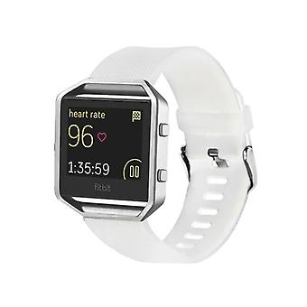 Plastic / silicone watch wristband for Fitbit blaze watch white accessories