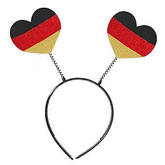 Wabbles wackel hjerte FAN artikel farver af Tyskland World Cup tilbehør