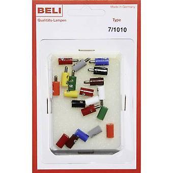 BELI-BECO 7/1010-Mini-Klinkenstecker Pin-Durchmesser: 2,6 mm 1 Set