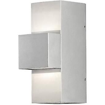 Konstsmide Imola Up & Down 7934-310 LED outdoor wall light 9 W EEC: LED (A++ - E) Warm white Silver-grey