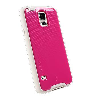 WirelessOne Helix Case for Samsung Galaxy S5 (Pink/White)